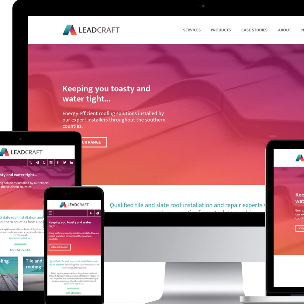 Leadcraft site designs